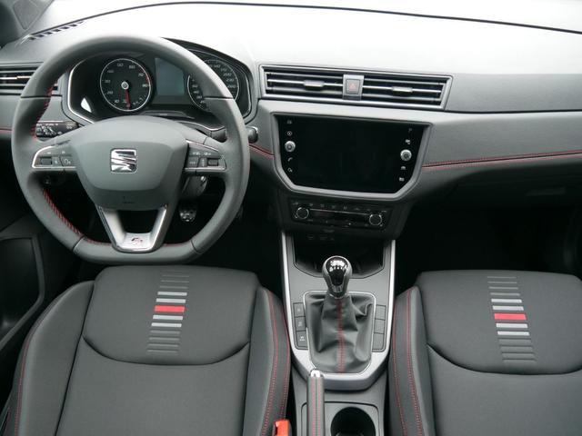 Seat Arona 1.5 EcoTSI ACT FR * NAVI VOLL-LED PARKTRONIC SITZHEIZUNG TEMPOMAT 17 ZOLL