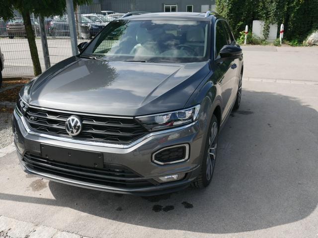 Volkswagen T-Roc - 2.0 TSI DSG 4MOTION SPORT * R-LINE LEDER PANORAMA NAVI 19 ZOLL ACTIVE INFO DISPLAY