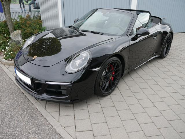 Porsche 911 - Carrera 4 GTS Cabriolet PDK * HINTERACHSLENKUNG ALCANTARA PDCC SPORTSITZE PLUS