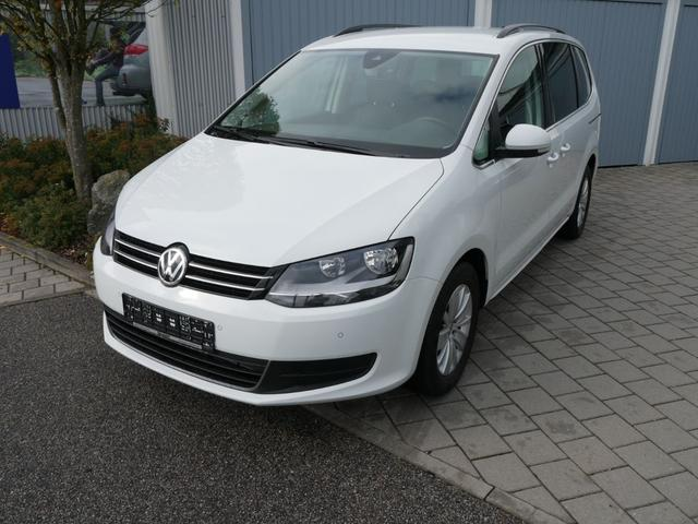 Volkswagen Sharan - 2.0 TDI DPF COMFORTLINE * BMT WINTERPAKET NAVI ACC PDC SHZG RÜCKFAHRKAMERA 7-SITZER