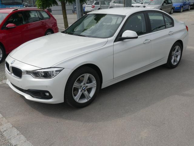 BMW 3er - 318d DPF ADVANTAGE * STEPTRONIC BUSINESS-PAKET LED NAVI PDC SHZG TEMPOMAT 17 ZOLL