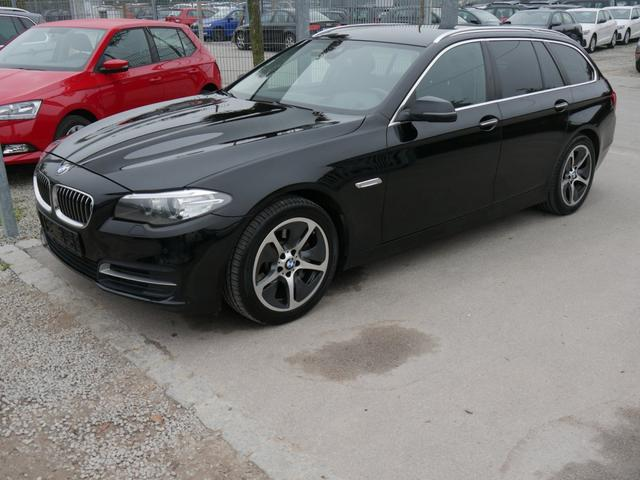 BMW 5er 525d DPF Touring * STEPTRONIC AHK 18 ZOLL NAVI XENON PDC SHZG HEAD-UP DISPLAY