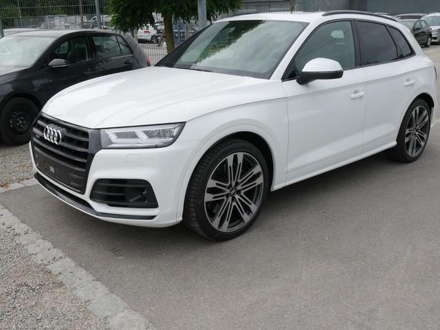 Audi Q5 - SQ5 TDI DPF QUATTRO * SOFORT LIEFERBAR AHK PANORAMA LEDER 21 ZOLL NAVI PLUS STANDHEIZUNG