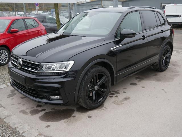 Volkswagen Tiguan - 2.0 TDI DPF DSG 4M HIGHLINE * R-LINE EXTERIEUR BLACK STYLE AHK 19 ZOLL NAVI