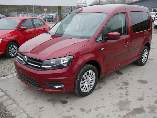 Volkswagen Caddy - Kombi 1.4 TSI TRENDLINE * PDC SHZG TEMPOMAT KLIMAAUTOMATIK 2 SCHIEBETÜREN