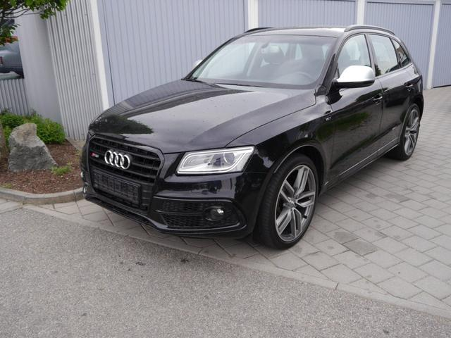 Gebrauchtfahrzeug Audi Q5 - 3.0 TDI DPF QUATTRO   TIPTRONIC AHK ACC PANORAMA-SD 21 ZOLL NAVI LEDER