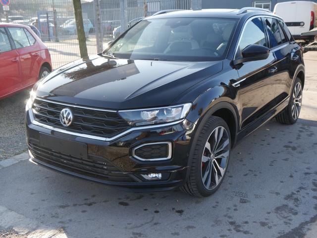 Volkswagen T-Roc - 2.0 TSI DSG 4MOTION SPORT   R-LINE LEDER PANORAMA NAVI 19 ZOLL ACTIVE INFO DISPLAY Lagerfahrzeug