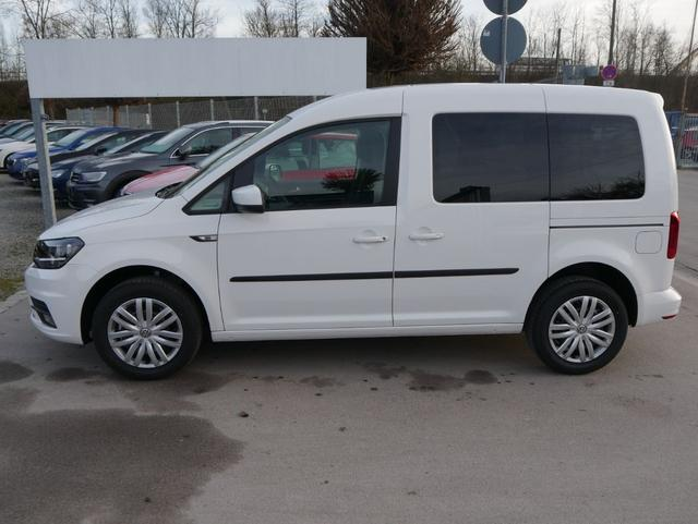Volkswagen Caddy - Kombi 1.4 TSI TRENDLINE   PDC SHZG TEMPOMAT KLIMAAUTOMATIK 2 SCHIEBETÜREN Lagerfahrzeug