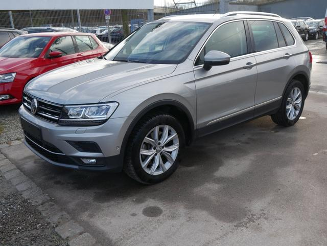 Volkswagen Tiguan - 2.0 TSI DSG 4MOTION HIGHLINE * BUSINESS-PREMIUM AHK NAVI PARK ASSIST ACTIVE INFO DISPLAY