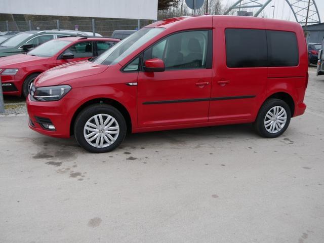 Volkswagen Caddy - Kombi 1.4 TSI TRENDLINE   PDC SHZG TEMPOMAT KLIMAAUTOMATIK 2 SCHIEBETÜREN Vorlauffahrzeug