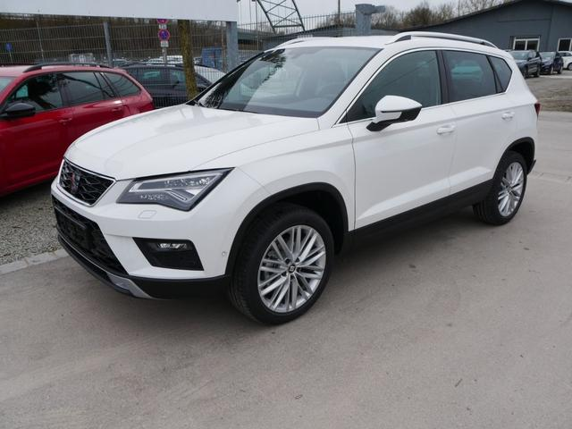 Seat Ateca - 1.5 EcoTSI ACT DSG XCELLENCE * NAVI VOLL-LED PARKASSISTENT KAMERA FRONTSCHEIBENHEIZUNG