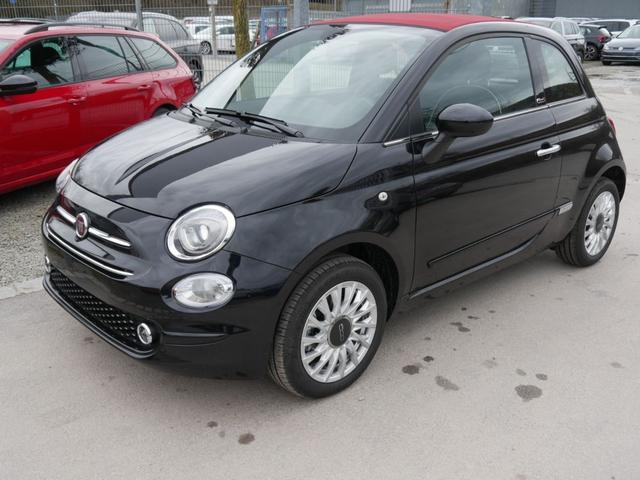Lagerfahrzeug Fiat 500C - Cabrio 1.2 8V LOUNGE   UCONNECT LIVE & LINK-SYSTEM PDC TEMPOMAT DACH ROT