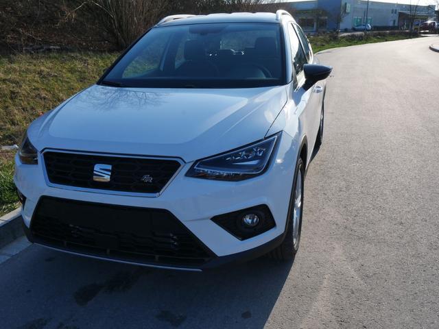 Seat Arona - 1.0 EcoTSI DSG FR   NAVI VOLL-LED PARKTRONIC SITZHEIZUNG TEMPOMAT 17 ZOLL Vorlauffahrzeug