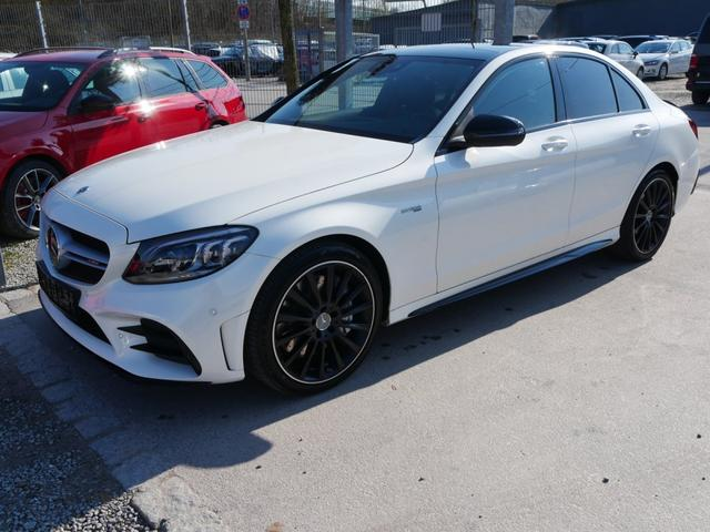 Mercedes-Benz C-Klasse - C 43 AMG 4M * HIGH-END ASSISTENZ- & BUSINESS-PAKET PLUS PERFORMANCE-ABGASANLAGE PANORAMA-SD 19 ZOLL