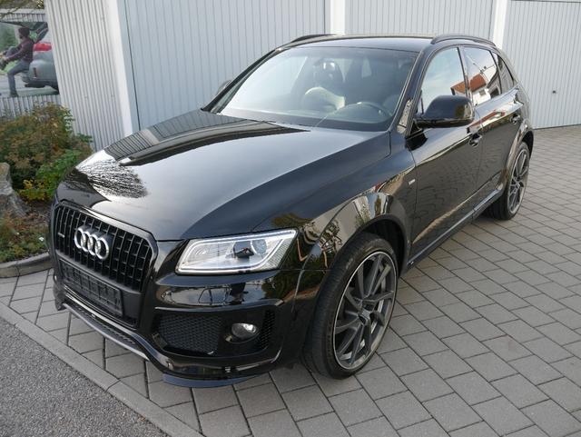 Gebrauchtfahrzeug Audi Q5 - 2.0 TDI DPF ABT S-LINE   QUATTRO S-TRONIC 22 ZOLL NAVI XENON PDC SHZG