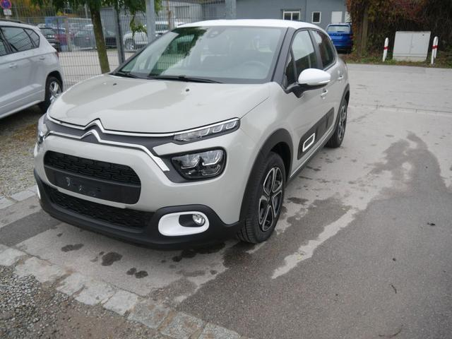 Citroën C3 - PureTech 82 FEEL PACK * ECO LED MIRROR SCREEN FUNKTION PDC SHZG DACH WEIß