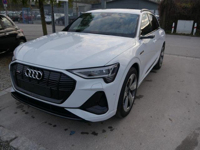 Audi e-tron - 55 QUATTRO S-LINE * 21 ZOLL TECHNOLOGY-& ADVANCED SELECTION ASSISTENZPAKET STADT-& TOUR NACHTSICHTASSISTENT PANORAMA