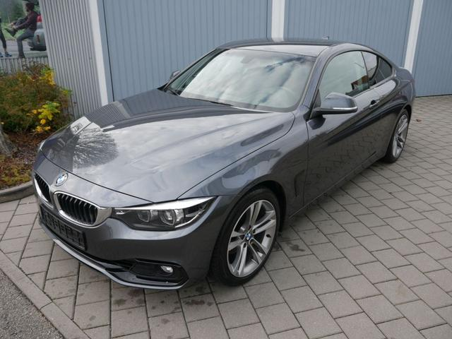 Gebrauchtfahrzeug BMW 4er - 420i Coupe SPORT LINE   BUSINESS-PAKET NAVI VOLL-LED PARKTRONIC SITZHEIZUNG 18 ZOLL