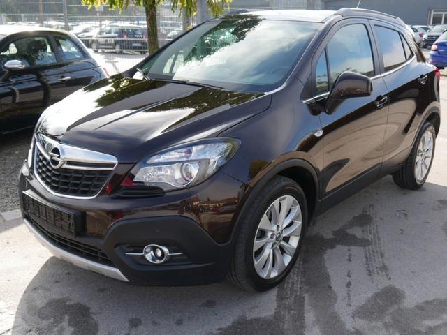 Gebrauchtfahrzeug Opel Mokka - 1.6 CDTI DPF ECOFLEX 4x4 INNOVATION   WINTERPAKET NAVI XENON PDC SHZG LENKRADHEIZUNG