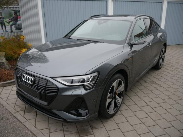 Audi e-tron Sportback - 55 QUATTRO S-LINE * 21 ZOLL ASSISTENZPAKET STADT-& TOUR HEAD-UP-DISPLAY MATRIX-LED PANORAMA