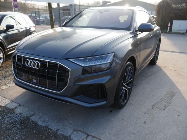 Audi Q8 - 50 TDI QUATTRO TIPTRONIC S-LINE * 22 ZOLL LEDER AHK ADAPTIVE AIR SUSPENSION SPORT NAVI MMI TOUCH