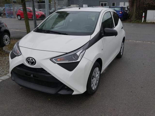 Lagerfahrzeug Toyota Aygo - 1.0 VVT-i X   SOFORT 5-TÜRER KLIMA RADIO BORDCOMPUTER