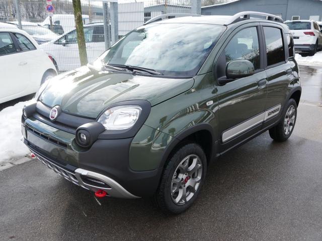 Lagerfahrzeug Fiat Panda - 0.9 8V TwinAir Turbo CROSS 4x4   KLIMAAUTOMATIK START-& STOPP NEBELSCHEINWERFER