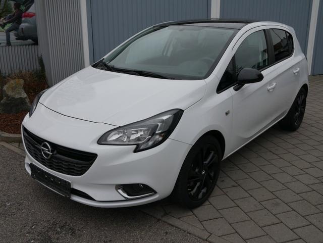 Gebrauchtfahrzeug Opel Corsa - 1.4 TURBO COLOR EDITION   SITZ-& LENKRADHEIZUNG TEMPOMAT DACH SCHWARZ