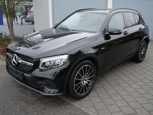 Gebrauchtfahrzeug Mercedes-Benz GLC - 43 AMG BITURBO   4MATIC 9G-TRONIC  NIGHT-PAKET & EXCLUSIVE EXTERIEUR AHK NAVI LED 20 ZOLL