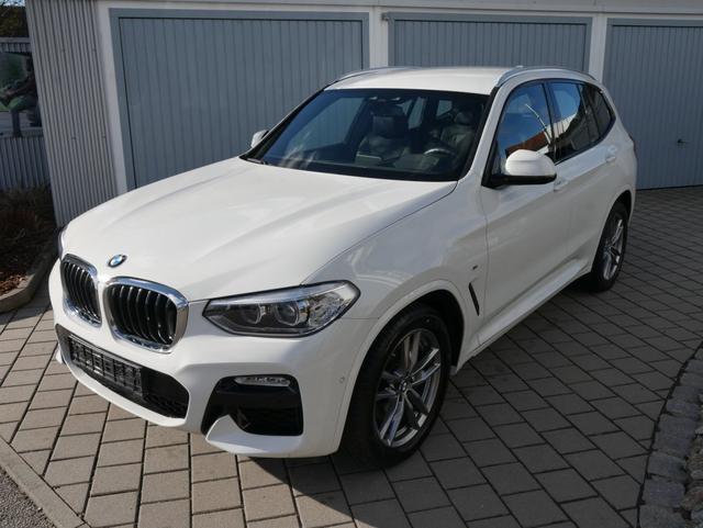 BMW X3 - xDrive 30i M-SPORT * BUSINESS-PAKET AHK LEDER NAVI PDC SHZG KAMERA 19 ZOLL