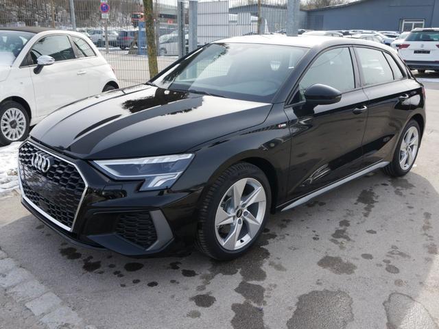 Audi A3 Sportback - 35 TFSI CoD S-TRONIC * S-LINE LED NAVI PARKTRONIC SITZHEIZUNG 17 ZOLL