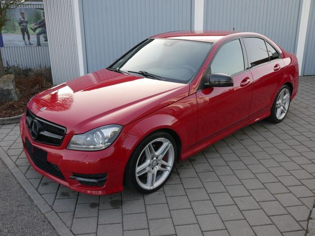 Gebrauchtfahrzeug Mercedes-Benz C-Klasse - C 300 CDI DPF 4MATIC   7G-TRONIC AMG-SPORTPAKET 18 ZOLL AHK NAVI PDC SHZG