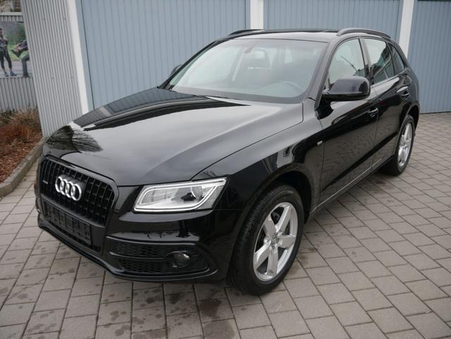 Gebrauchtfahrzeug Audi Q5 - 2.0 TDI DPF QUATTRO   S-TRONIC S-LINE EXTERIEUR PANORAMA-SD NAVI XENON 19 ZOLL