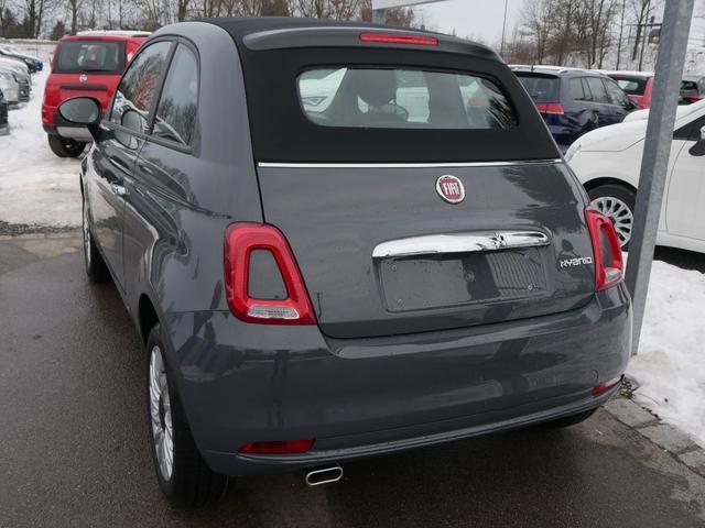 Fiat 500C - Hybrid 1.0 GSE N3 LOUNGE * UCONNECT LIVE-& LINK-SYSTEM PDC TEMPOMAT DACH SCHWARZ
