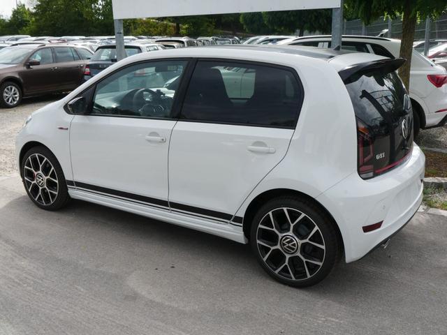 Volkswagen up! - 1.0 TSI GTI * FAHRERASSISTENZPAKET RÜCKFAHRKAMERA PDC SHZG DACH SCHWARZ
