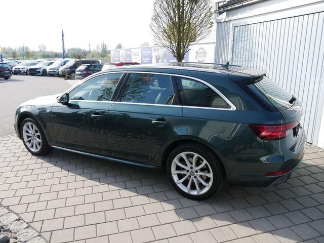 Audi A4 Avant - 1.4 TFSI DESIGN * S-LINE SELECTION EXTERIEURPAKET AHK MATRIX-LED MMI NAVI 18 ZOLL