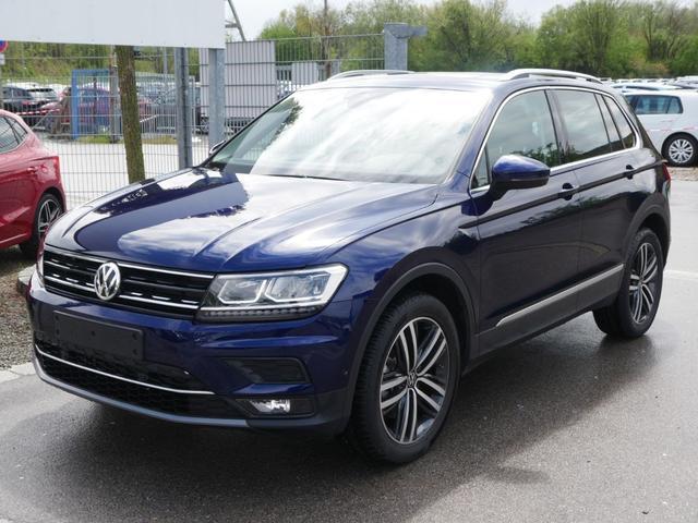 Volkswagen Tiguan - 2.0 TSI DSG 4M HIGHLINE * AHK PANORAMA TOP-& BUSINESS-PREMIUMPAKET 19 ZOLL PARK ASSIST KEYLESS ACCESS