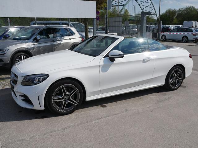 Gebrauchtfahrzeug Mercedes-Benz C-Klasse - C 200 Cabrio 9G TRONIC AMG LINE   HIGH END INFOTAINMENT-& LICHTPAKET ADVANCED-KOMFORT-& ASSISTENZPAKET