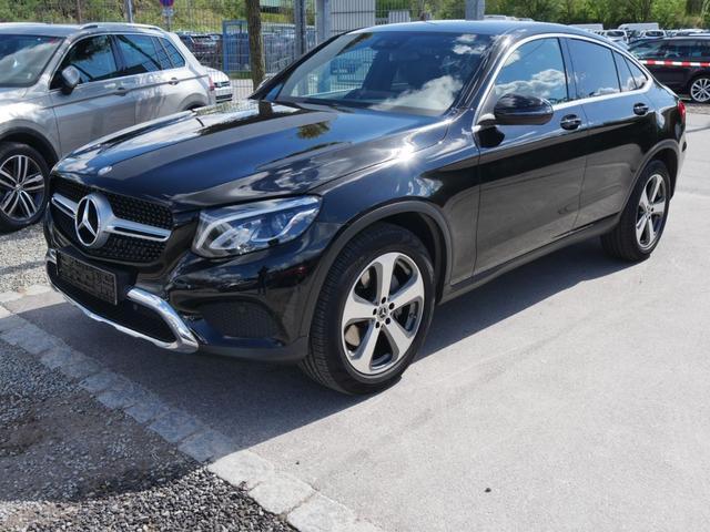 Gebrauchtfahrzeug Mercedes-Benz GLC - 220 d Coupe 9G-TRONIC 4MATIC EXCLUSIVE INTERIEUR   SPUR-PAKET AHK SCHIEBEDACH LED-HIGH PERFORMANCE NAVI COMAND