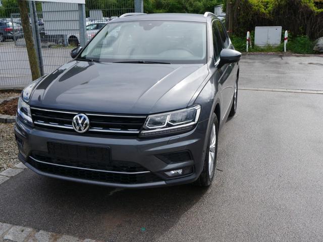 Volkswagen Tiguan - 2.0 TDI DPF DSG 4M HIGHLINE * AHK BUSINESS-PREMIUM-PAKET LED NAVI PARK ASSIST