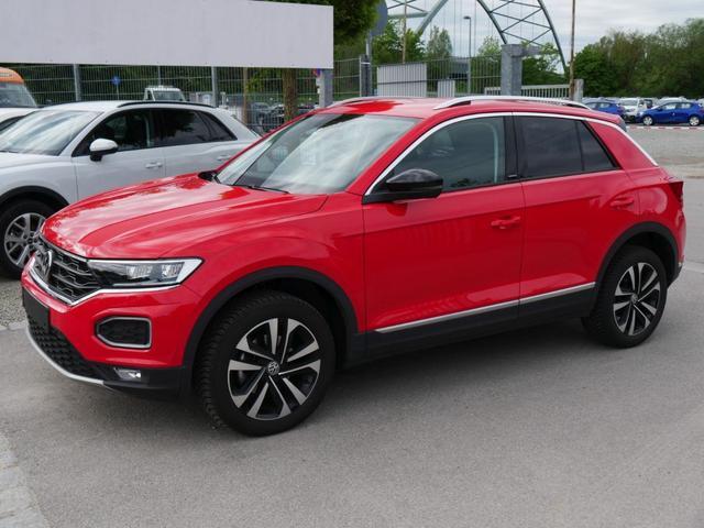 Volkswagen T-Roc - 1.5 TSI ACT DSG UNITED * ACC AHK LED NAVI RÜCKFAHRKAMERA PDC SHZG
