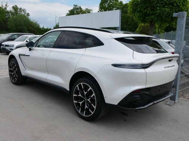 Aston Martin DB - X 4.0 * 551 PS ELEGANCE-PAKET EXTERIEUR GLOSS BLACK PAKET LEDER ROT 22 ZOLL PANORAMA