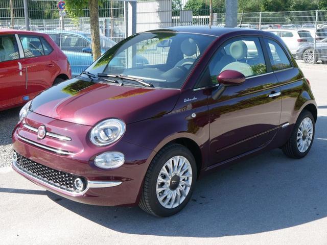 Fiat 500 - Hybrid 1.0 GSE DOLCEVITA * GLASDACH PARKTRONIC TEMPOMAT KLIMA LINK-SYSTEM 15 ZOLL
