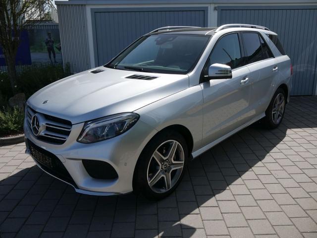 Mercedes-Benz GLE SUV - 350 d 9G-TRONIC 4MATIC AMG-LINE * AIRMATIC-PAKET 360°-KAMERA PANORAMA AHK 20 ZOLL LED-INTELLIGENT LIGHT SYSTEM