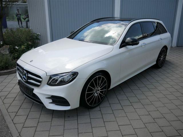 Mercedes-Benz E-Klasse - E 220 d T 9G-TRONIC AMG LINE * BUSINESS-PAKET PANORAMA 20 ZOLL BURMESTER SOUNDSYSTEM WIDESCREEN COCKPIT