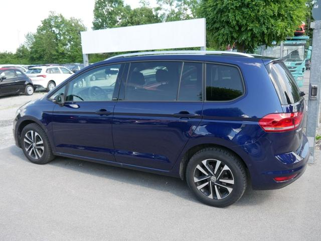 Volkswagen Touran - 2.0 TDI DPF DSG UNITED * ACC NAVI PARK ASSIST 7-SITZER SITZHEIZUNG