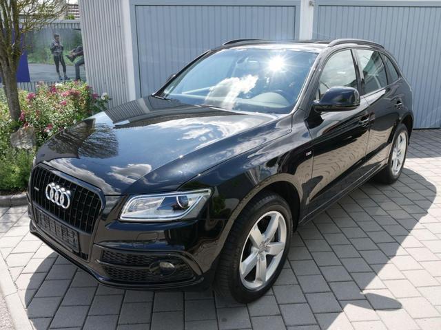 Gebrauchtfahrzeug Audi Q5 - 3.0 TDI DPF QUATTRO   S-TRONIC S-LINE EXTERIEUR PANORAMA-SD NAVI XENON 19 ZOLL