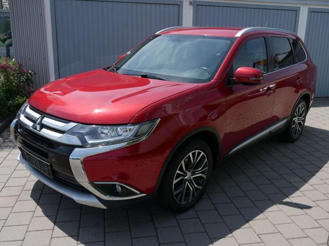Mitsubishi Outlander - 2.2 DI-D 4WD PLUS * RÜCKFAHRKAMERA KLIMA TEMPOMAT LM-FELGEN 18 ZOLL
