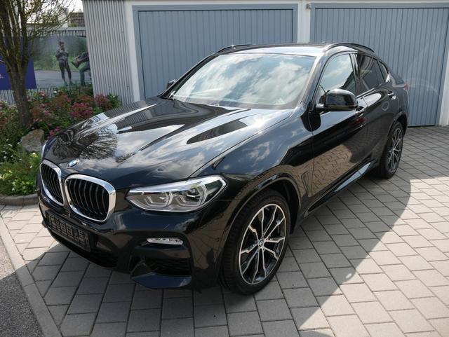 BMW X4 - xDrive30d DPF M-SPORT * AUTOMATIK LEDER NAVI AHK HEAD-UP DISPLAY RÜCKFAHRKAMERA 20 ZOLL