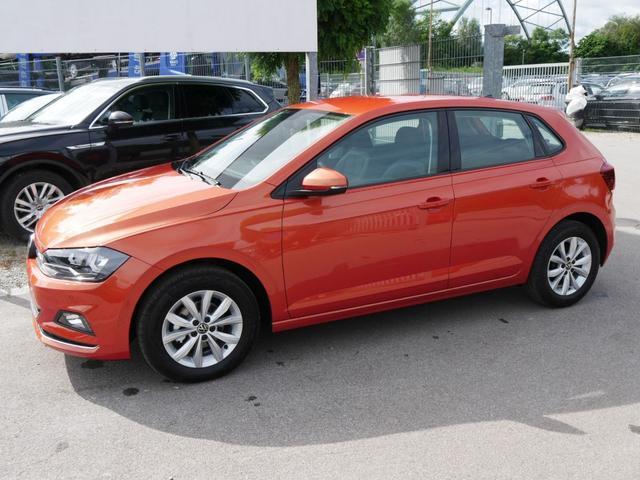 Volkswagen Polo - 1.0 TSI HIGHLINE * PDC APP-CONNECT SHZG TEMPOMAT RÜCKFAHRKAMERA KLIMAAUTOMATIK